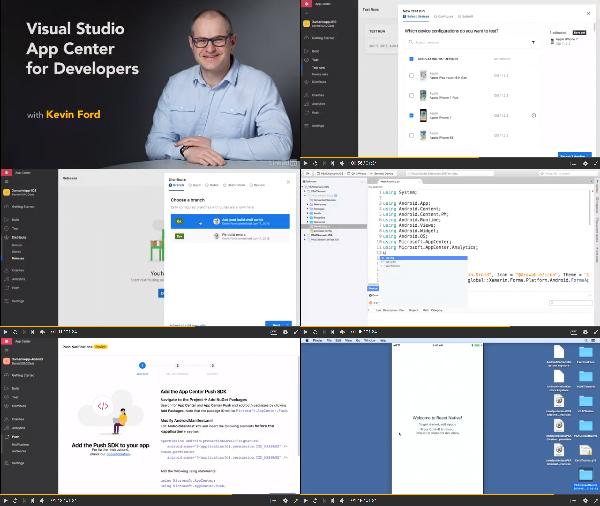 Visual Studio App Center for Developers center