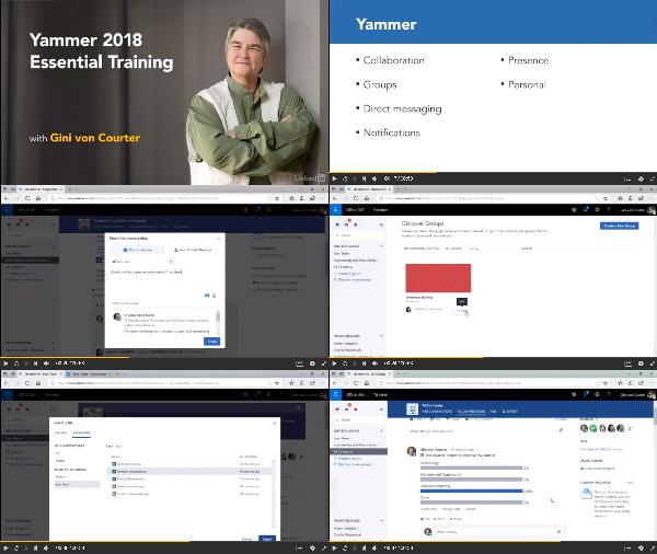 Yammer 2018 Essential Training center