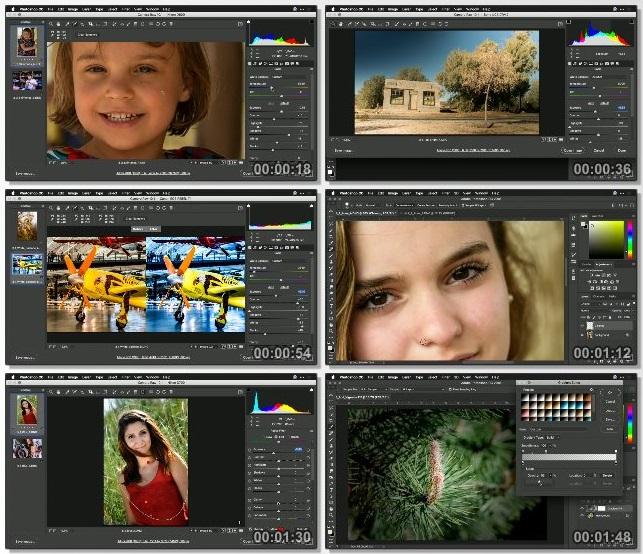دانلود فیلم آموزشی Photoshop Tips, Tricks, & Techniques از Lynda