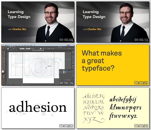 دانلود فیلم آموزشی Learning Type Design از Lynda
