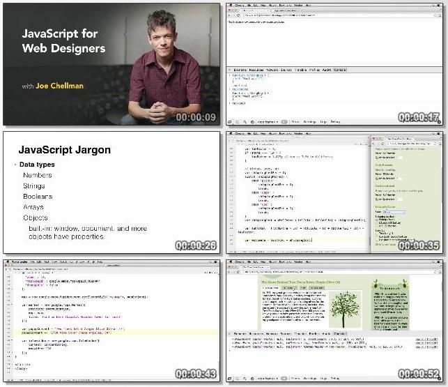 دانلود فیلم آموزشی javascript for Web Designers از Lynda