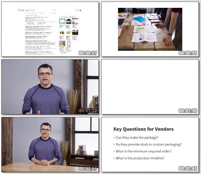 دانلود فیلم آموزشی Learning Package Design از Lynda