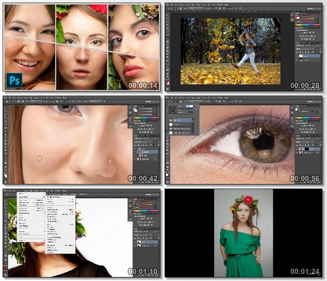 دانلود فیلم آموزشی Adobe Photoshop Beauty Retouching for Beginners