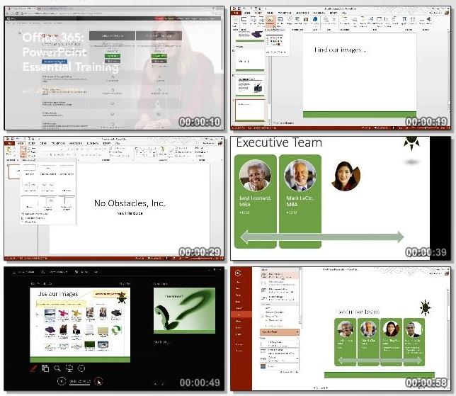 دانلود فیلم آموزشی Office 365: PowerPoint Essential Training از Lynda