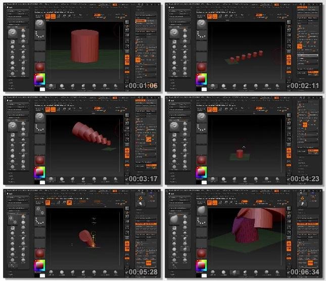 دانلود فیلم آموزشی Advanced Array Mesh Techniques in ZBrush