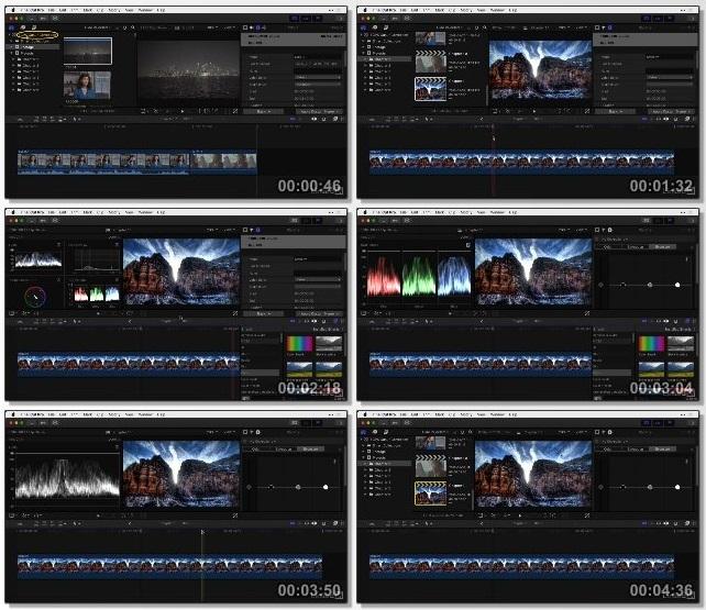 دانلود فیلم آموزشی Final Cut Pro X Guru: Color Correction از Lynda