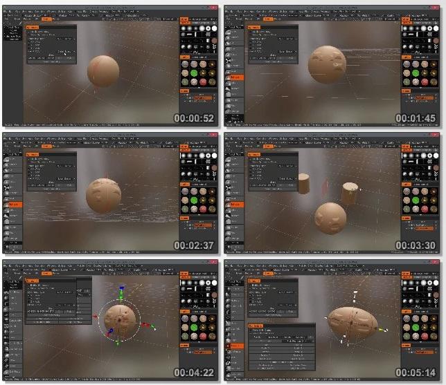 دانلود فیلم آموزشی Getting Started with 3D-Coat از Pluralsight