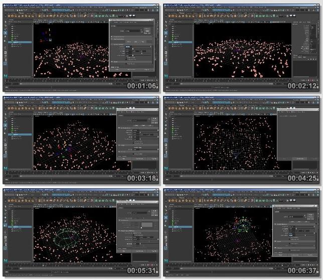 دانلود فیلم آموزشی Maya Dynamics: nParticles and Expressions