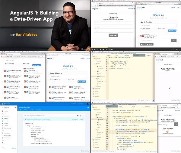 AngularJS 1: Building a Data-Driven App center