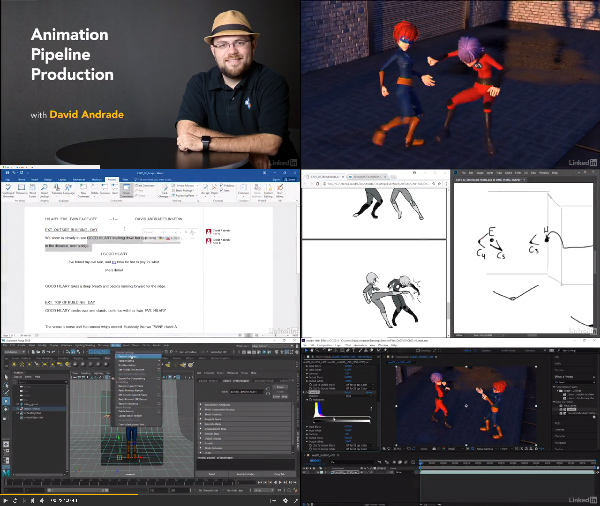 Animation Pipeline Production center