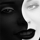 Black and White Image Retouch Photoshop Action logo