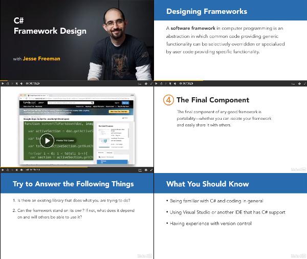 C# Framework Design center