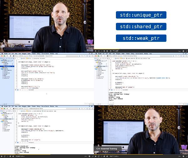 C++: Smart Pointers center