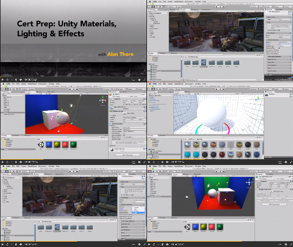 Cert Prep: Unity Materials, Lighting, and Effects center