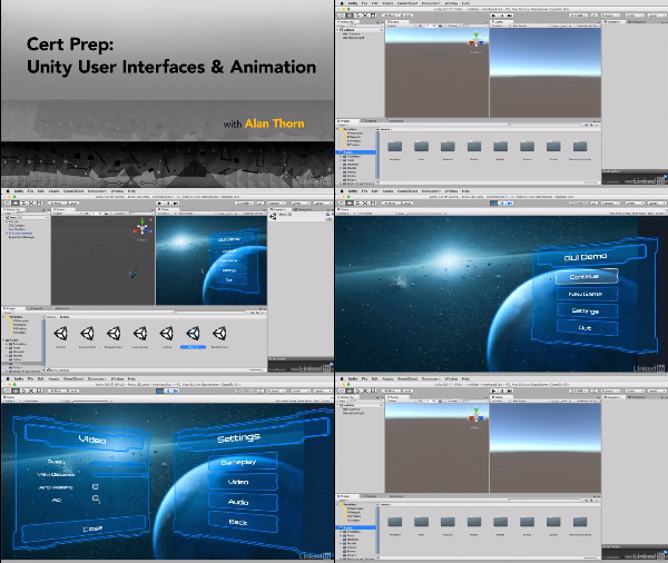 Cert Prep: Unity User Interfaces and Animation center