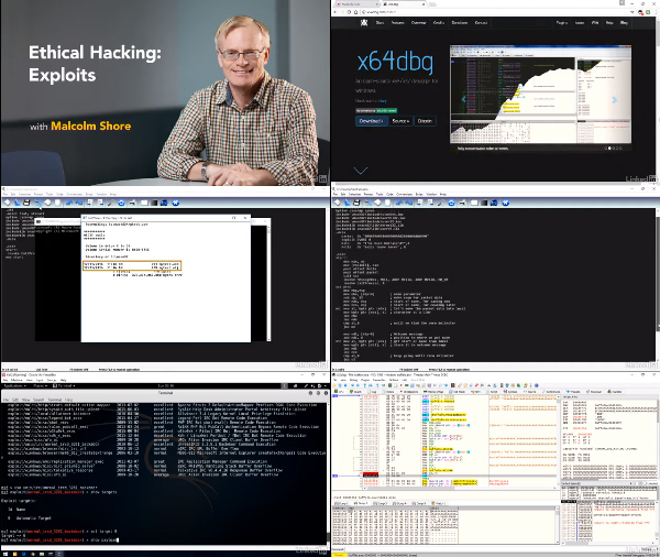 Ethical Hacking: Exploits center