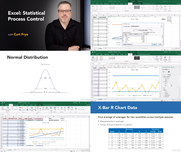 Excel: Statistical Process Control center