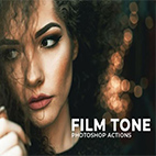 Film Tone Photoshop Actions logo