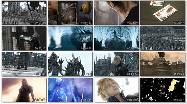 تصویر زمینه Final Fantasy VII Advent Children
