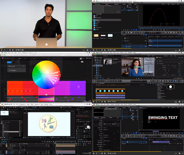 Final Cut Pro X Guru: Motion Graphics in Motion and After Effects center