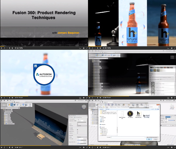 Fusion 360: Product Rendering Techniques center