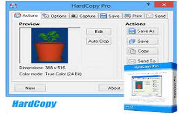 HardCopy Pro center