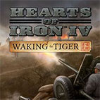 Hearts of Iron IV Waking the Tiger logo