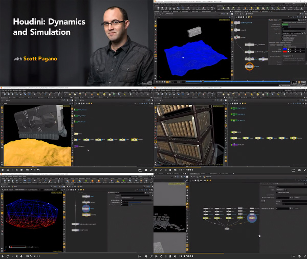 Houdini: Dynamics and Simulation center