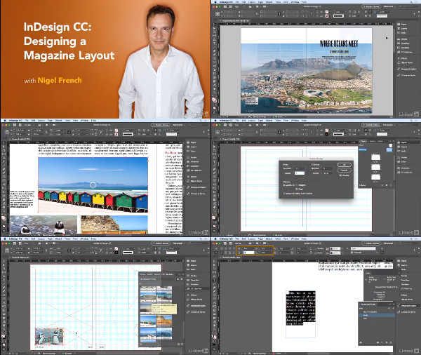 InDesign CC: Designing a Magazine Layout center