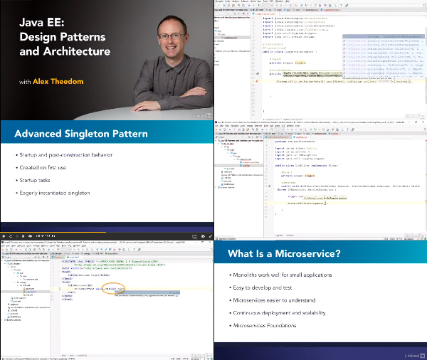 Java EE: Design Patterns and Architecture center