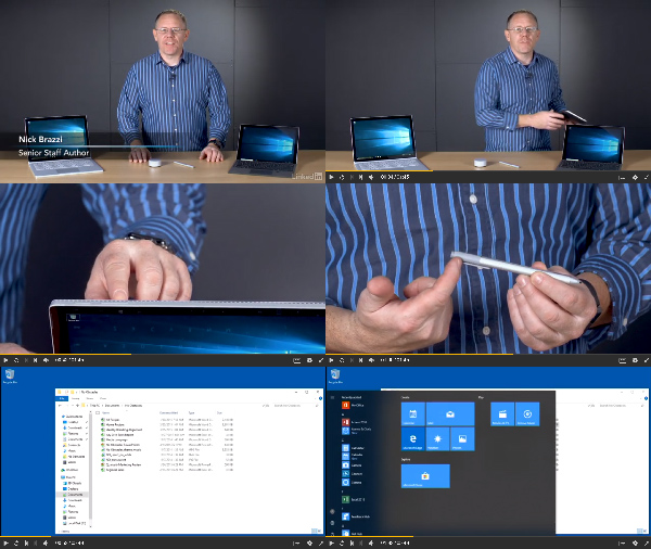 Learn Microsoft Surface: The Basics center