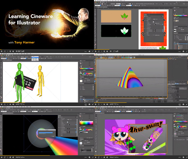 Learning Cineware for Illustrator center