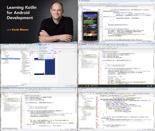 Learning Kotlin for Android Development center