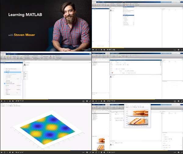 Learning MATLAB center