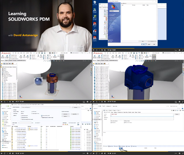 Learning SOLIDWORKS PDM center