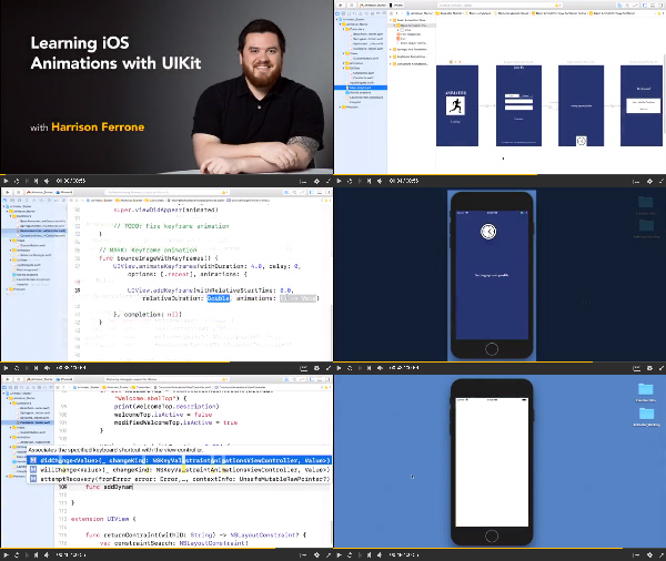 Learning iOS Animations with UIKit center