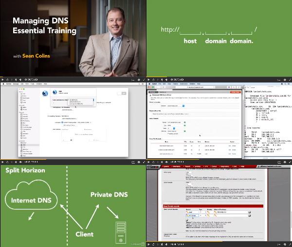 Managing DNS Essential Training center