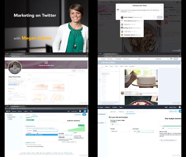 Marketing on Twitter center