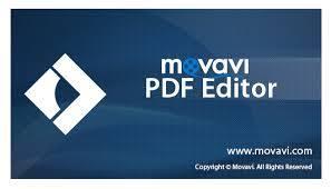 Movavi PDF Editor center