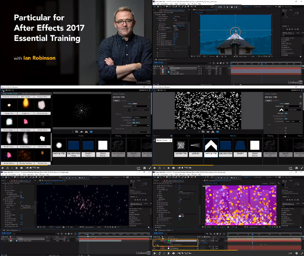 Particular 3 for After Effects Essential Training center