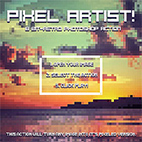 Pixel Artist - 8 Bit Retro Photoshop Action logo