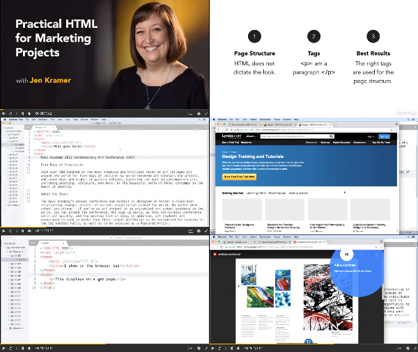 Practical HTML for Marketing Projects center