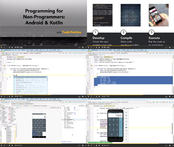 Programming for Non-Programmers: Android and Kotlin center