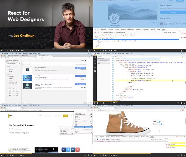 React for Web Designers center