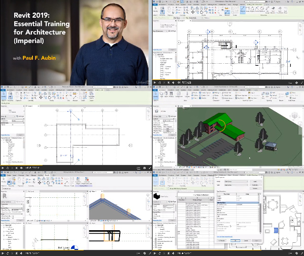 Revit 2019 Essential Training for Architecture - Imperial center