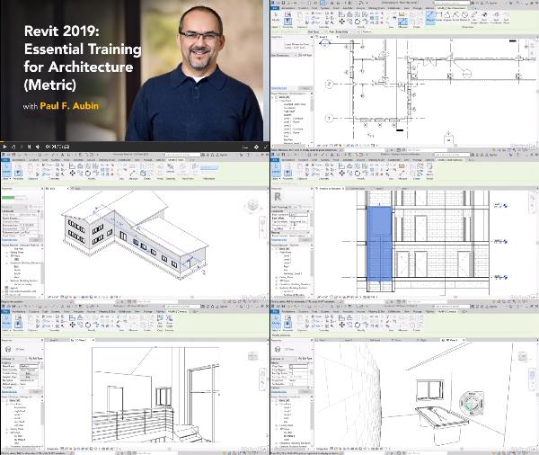 Revit 2019: Essential Training for Architecture - Metric center