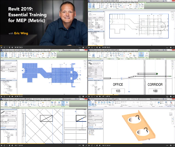 Revit 2019 Essential Training for MEP - Metric center
