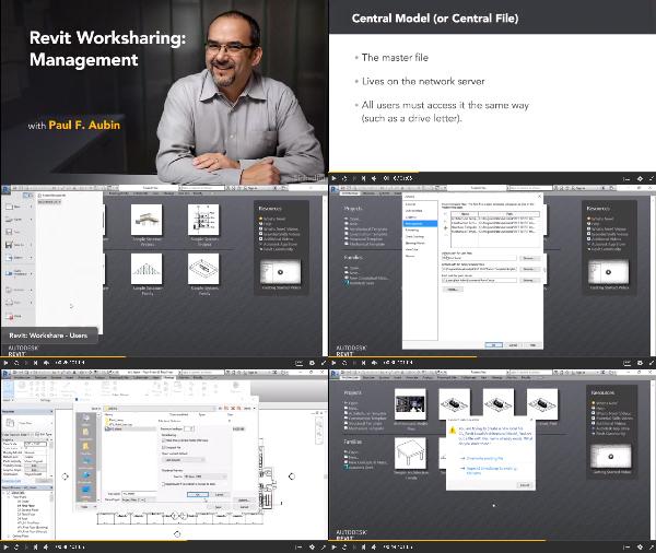 Revit Worksharing: Management center