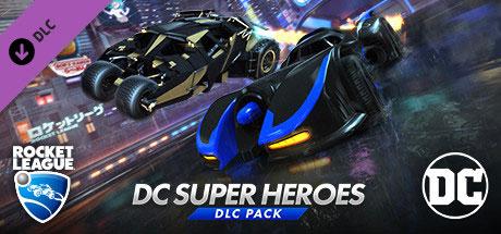 دانلود Rocket League DC Super Heroes cover جدید