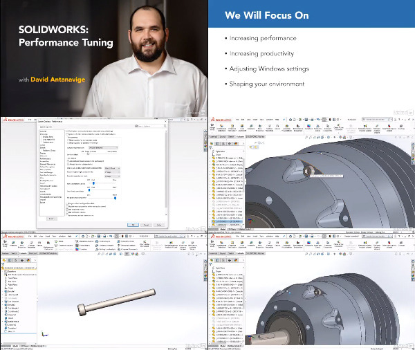 SOLIDWORKS: Performance Tuning center
